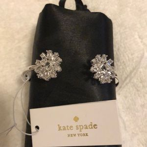 Kate Spade Flower Cuff Bracelet NWT